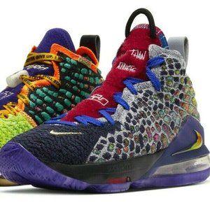 Nike Lebron XVII 17 What The CV8079-900 Basketball